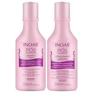 Inoar Kit Pos Progress Shampooing et Après-shampooing (2 x 250 ml) (Trackpack, neuf)