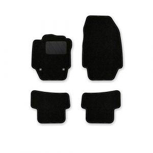 AfC-cLS rE08102 ensemble de tapis de sol noir pour renault captur modèles à partir de 2013 (Baer-AfC-Shop, neuf)