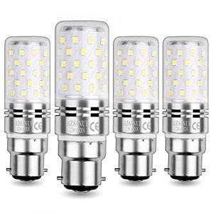 WinnowTe Ampoule Maïs LED 12W, Candélabres Ampoules, Blanc Froid 6000K, 1200LM, Culot B22, Équivalent Ampoule Incandescence 100W, Non dimmable, Paquet de 4 (WinnowTe, neuf)