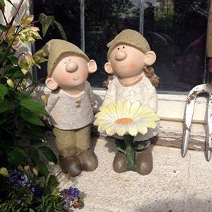 FHFY Garden Nains de jardin Bill et Berryl marguerite (FHFY, neuf)