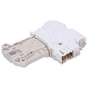 Wessper Verrou de porte lave linge Electrolux EWF129442W (agdmaster, neuf)