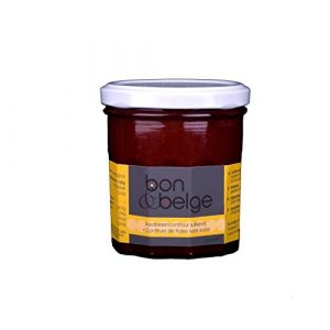 bon & belge - Confiture artisanale Belge à la fraise (80%) sans sucre avec des édulcorants bon pour les diabétiques, 200g (Bon & Belge, neuf)