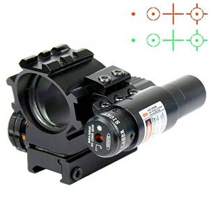Hauska Holographique Rouge/Vert 4 Réticules Reflex viseur Point Rouge visée Laser (Forest Innn, neuf)