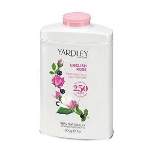 YARDLEY Rose Poudre de Talc 200 g (Parfums de Sauvat, neuf)
