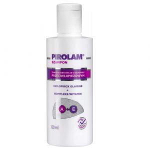Pirolam Shampooing Anti pellicules avec Ciclopirox Olamine, Vitamine A + E, 150 ml (Karma-Trade, neuf)