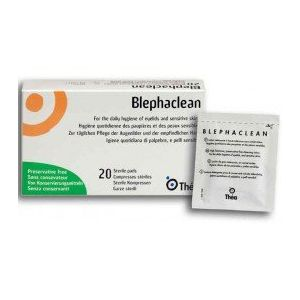 BLEPHACLEAN COMPRESSE OCULAIRE STERILE 20 (Pharmalogic, neuf)