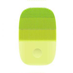 Brosse Nettoyante visage, Étanche IPX7 Sonique Brosse pour visage Silicone Brosse Faciale Électrique,Vert (BeautyLife-Store, neuf)