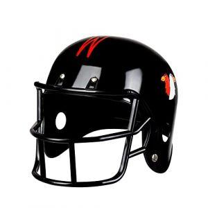 Boland 01393casque de football américain Déguisement Taille unique (MELENTINIKPARTY, neuf)