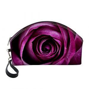 Shinelly Rose Imprimé Imprimé Sac de maquillage de voyage Sac de maquillage (Queenwon, neuf)