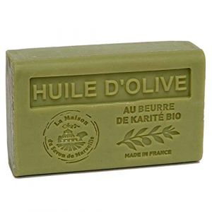 Savon Huile d'Olive au beurre de karité Bio - 125gr (GRENADINE BOUTIQUE, neuf)