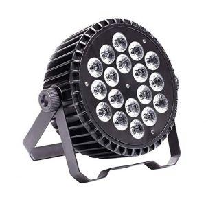 Par LED,UKing 200W RGBW Lampe de Scène Projecteur à Effet,éclairage de Commande de Voiture/ Voix/ DMX512 pour le Mariage de Barre de Club KTV Maison Halloween Noël (Ligua Lights, neuf)