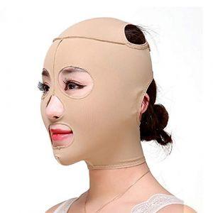 RUNMIND Masque Minceur Visage Plein Visage Levage Masque Mince Visage Outils de Massage Minceur Visage Bandage Lift-up Mignon V Shaper L (RUNGAO, neuf)