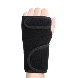 Support de poignet gauche droit main Attelle amovible Muscle Protector (menwen uk, neuf)