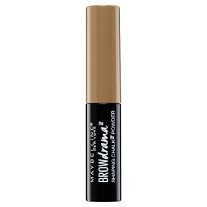 GEMEY MAYBELLINE Brow Drama Shaping Chalk Poudre Sourcils - 100 Brun doux (The Cosmetic House, neuf)