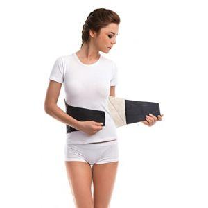 TOROS GROUP Soutien Lombaire (Laine) - Ceinture chauffante - Soulagement de la douleur - Attelle thermique - Chaleur naturelle - Taille X-Large 111-120 cm (TOROS GROUP, neuf)
