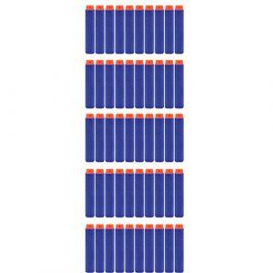 50 Balles en mousse bleue fléchettes balles en mousse élite NERF 7,3 cm jouets pour enfants (tuoyang, neuf)