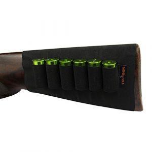 tourbon Fusil munitions élastique manches Buttstock calibre 12Cartouche Support (Tourbon Outdoor, neuf)