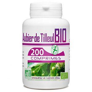 Aubier de Tilleul Bio - 400 mg - 200 comprimés (123PLANTES, neuf)