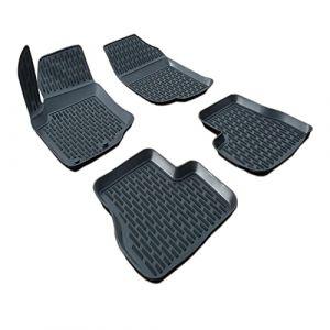 SCOUTT | 3D Tapis DE Sol en Caoutchouc Premium Compatible avec Peugeot 207 2006-2014 4 pièces (J&J AUTOMOTIVE, neuf)
