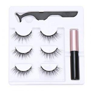 Outil de maquillage Waterproof Artisanal Nature Mascara magnétique Mascara Extension Forceps Stylo de ligne magnétique(N10) (boolpert, neuf)