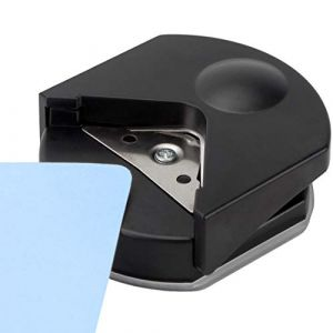 Perforatrice D'Angle/Coupe-Papier Coin Rond/Corner Punch - Pour le Livre de Ferraille Shaper de Papier Cartes Bricolage Artisanat Pour Enfants (Eopocdor-EU, neuf)