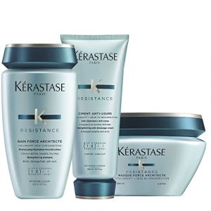 Kerastase Résistance Bain Force Architecte, Ciment Anti-usure et Masque Force Architecte (Gorgeous Shop Ltd, neuf)