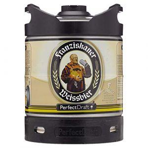 Fût 6L Perfectdraft - 5 euros de consigne inclus - Fût pour tireuse à bière (Franziskaner Weissbier) (Saveur Bière, neuf)