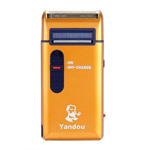Rasoir électrique, rasoir rechargeable pour hommes Rasoir électrique Rasoir Tondeuse Barbe classique Soins pour hommes rasoir (Antilog, neuf)