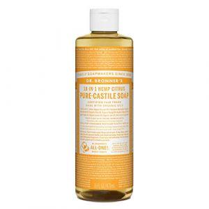 Dr Bronner DRB-0739 Savon liquide Citrus Castille 472 ml (Ponera, neuf)
