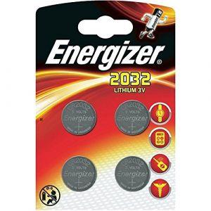 Energizer cr2032 piles bouton au lithium 3 V batterie – (lot de 4) (P & F France, neuf)