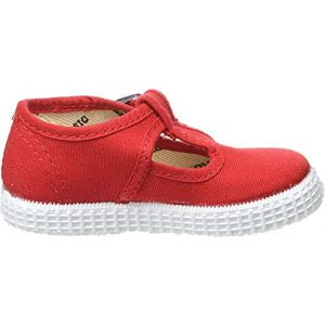Victoria Sandalia Hebilla Lona, Chaussures à lacets mixte enfant - Rouge (Rojo), 33 EU (Calzaditos Store, neuf)