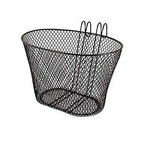 Ducomi Panier de Vélo Avant Universel pour Adultes et Enfants - Panier, Rangement, Chien, en Métal Plastifié Antirouille à Suspendre au Guidon (29,5 x 22,5 x 22,5 cm) (DUCOMI, neuf)