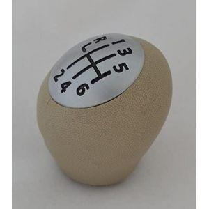 IVATECH 01SPK6083 3 Pommeau Levier De Vitesse 1-6 R Oem Beige Argent Mat (ivatech, neuf)
