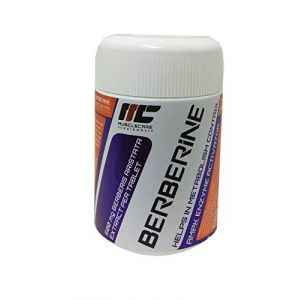 Muscle Care supplements I-NC, Berberine 500mg | 90 capsules (MusclePower, neuf)