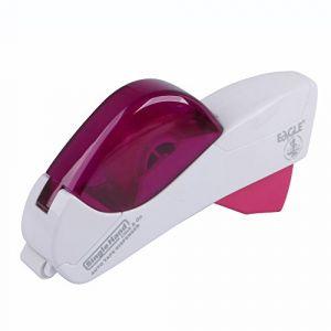 Eagle Distributeur de ruban automatique et pistolet à ruban adhésif. 12 mm et 19 mm. Idéal pour accrocher des cadeaux, des paquets, des albums et des enveloppes. - blanc (TYI Store, neuf)