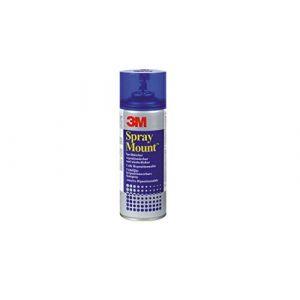 3M 051847 Colle Aérosol Spray Mount Idéale Montages Successifs Repositionnable 400 ml Couleurs Assorties (rentreediscount, neuf)