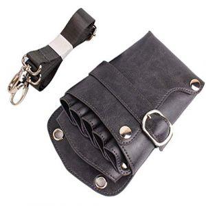 Barber ciseaux Pochette étui avec ceinture pour les coiffeurs outils salon coiffeur ciseaux taille porte-valise sac (?? NACHEN Supplies Shop??, neuf)