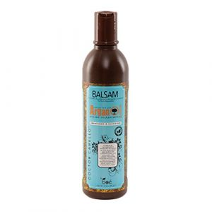 Doctor Cabello Revitalisant à l'huile d'argan–avec Huile d'Argan Bio du Maroc, Revitalisant pour cheveux secs, bouclés et Crespi–340ml (Dominican Haircare, neuf)