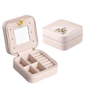 BULING Grand trousse de beauté avec cosmétiques Grand espace maquillage Trousse à maquillage Trousse à maquillage Vanity Bag pour rangement professionnel (Sheng Shop Pu, neuf)