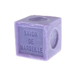 Natural Marseille Soap Lavender Traditional French Recipe Cube 300g (GRENADINE BOUTIQUE, neuf)