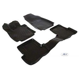J&J AUTOMOTIVE | 3D Exclusive Tapis DE Sol en Caoutchouc Compatible avec Renault Clio IV 2012 - prés 4pcs (J&J AUTOMOTIVE, neuf)