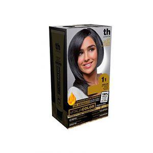 Vitalia Color Kit coloration permanente pour cheveux sans ammoniaque n°1.1 (PARAPHARMA POZAS, neuf)