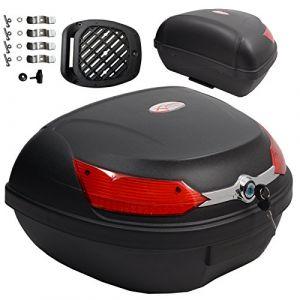 A de Pro Top Case Box 46LT Quick rlease universel moto scooter Luggage Quad