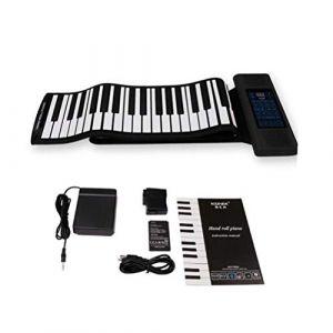 Clavier De Piano, Instrument électronique Portable USB Flexible De 88 Touches, Instrument De Pliage Souple Et élastique, Pédale De Sustain (KuanDar, neuf)