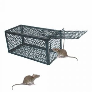 TIFANTI Piège à Rat,Piège à Souris - Facile réutilisable Contrôle des Rats Tapette à Souris Attrappe Anti Rat Souricière (SC987, neuf)