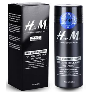 Poudre Cheveux,Poudre Densifiante Poudre Volume Cheveux Chatain Calvitie Homme Hair Building Fibers?Brun clair? (LILIOOY, neuf)
