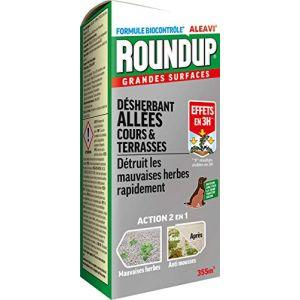 Roundup Désherbant Allées Cours et Terrasses Concentré, 800ml (Toututile, neuf)