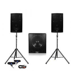 Pack 1512 Sonorisation 2000W Caisson bi-amplifié (SONO-ENERGIE, neuf)
