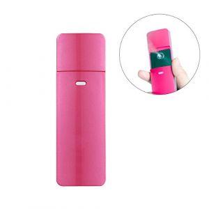Frcolor Vapeur à vapeur rechargeable USB vaporisateur à vapeur Nano humidificateur ionique Cool Cool (rose) (Vestle, neuf)