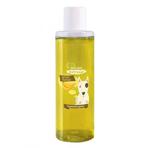Over-Zoo Shampoing Naturel Soin pour Chien et Chiot (200 ML) Frutti Power Banane – PH-Neutre (JMFA LTD, neuf)